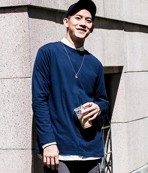 韓國百搭多色落肩剪裁素面上衣 卡其/淺綠/灰/白
