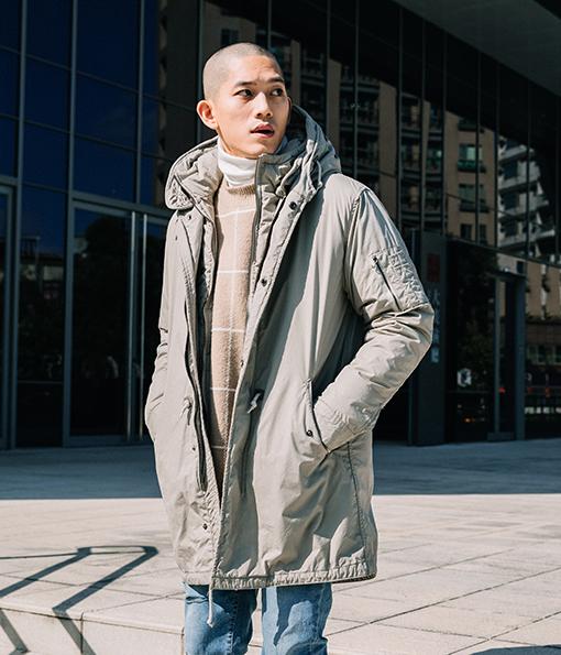 冬季防寒首選機能型鋪棉M51大衣 綠/黑/杏