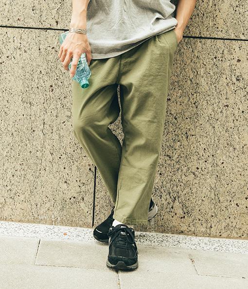 韓國人氣經典寬鬆工作褲