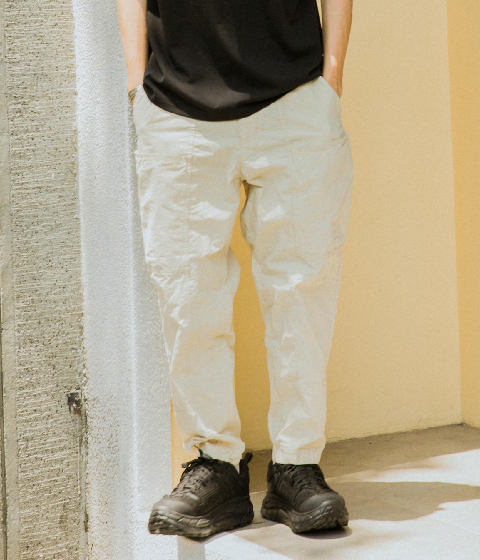 軍事機能風格剪裁休閒褲