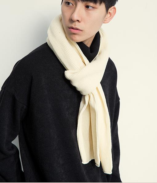 韓國 簡約百搭風格圍巾