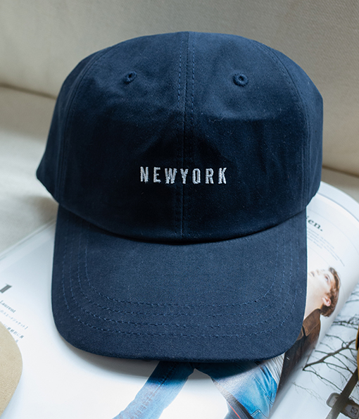 NEWYORK老式棒球帽 白/黑/紅/粉