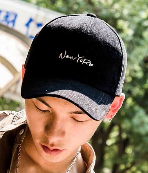 韓國百搭NEWYORK復古老式棒球帽