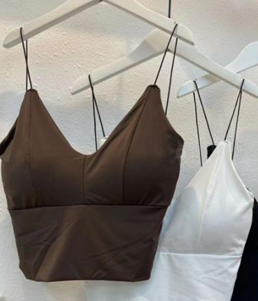 衣櫃必備單品bra背心