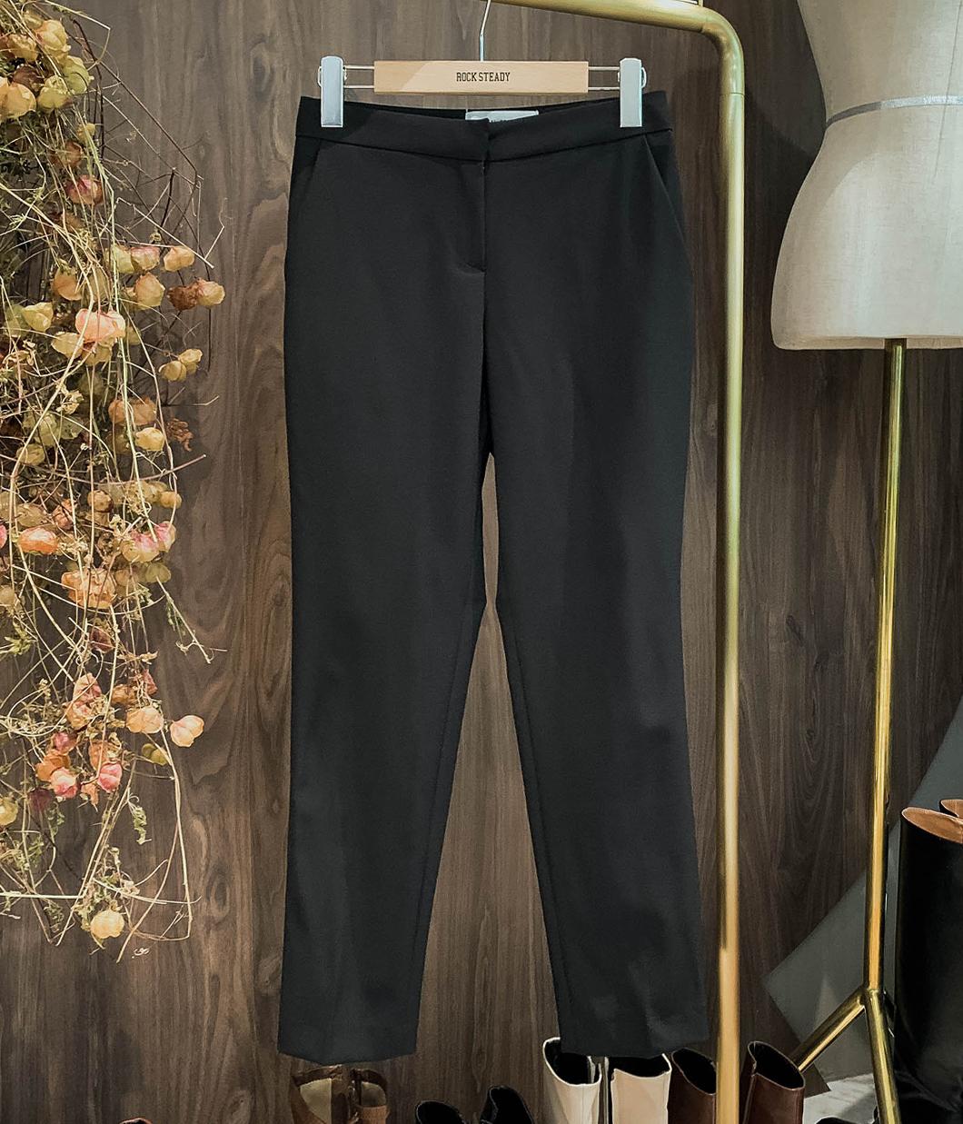 知性修身鉛筆西裝褲