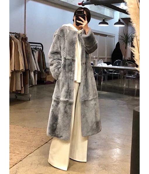 長版毛毛大衣