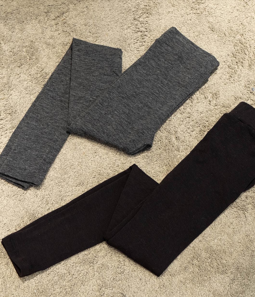 舒適彈性素色內搭褲