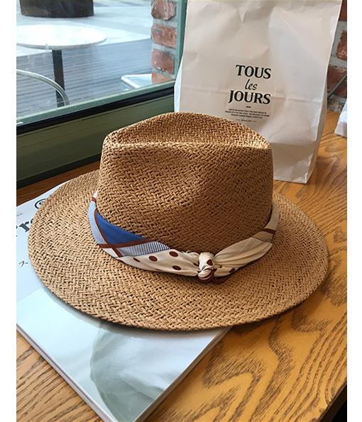 訂製款領巾手工藤編紳士帽7cm(無到付服務)