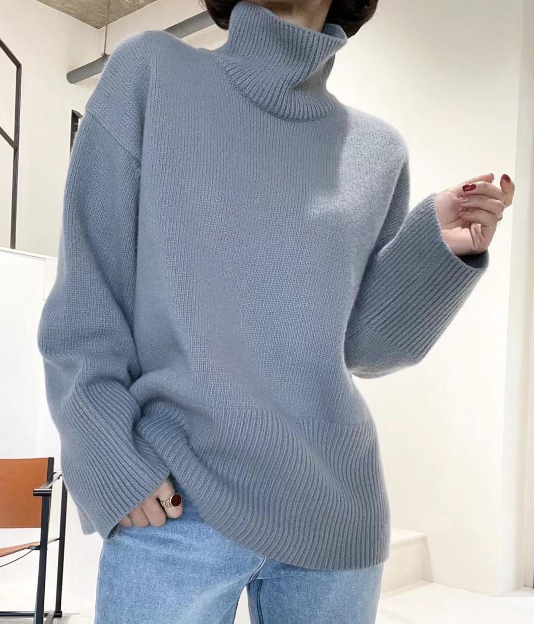 秋冬寶貝不能沒有的時髦立領毛衣