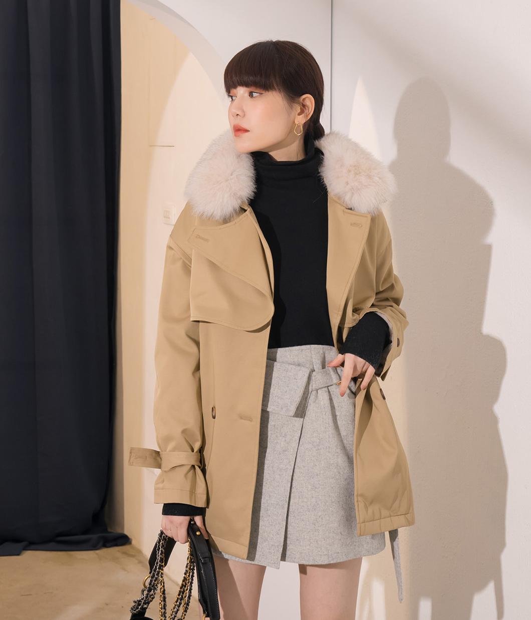 4.暖冬內刷毛挺料立領外套