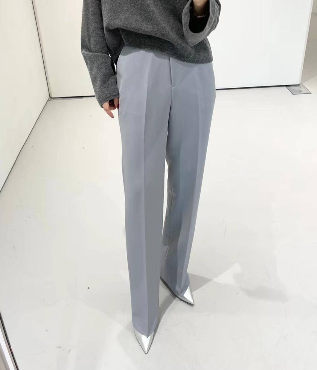 36.版型很好的經典修飾西裝褲