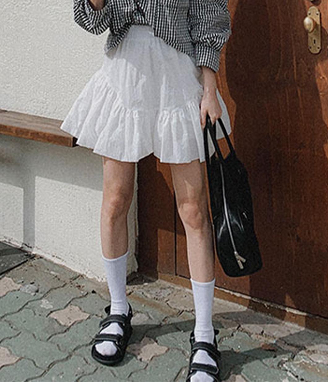 亮眼活力涼感瘦腿褲裙