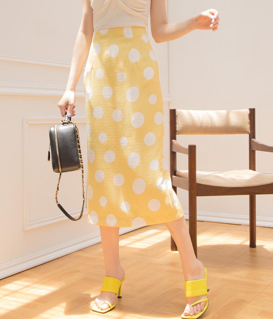 夏日點點復古長裙