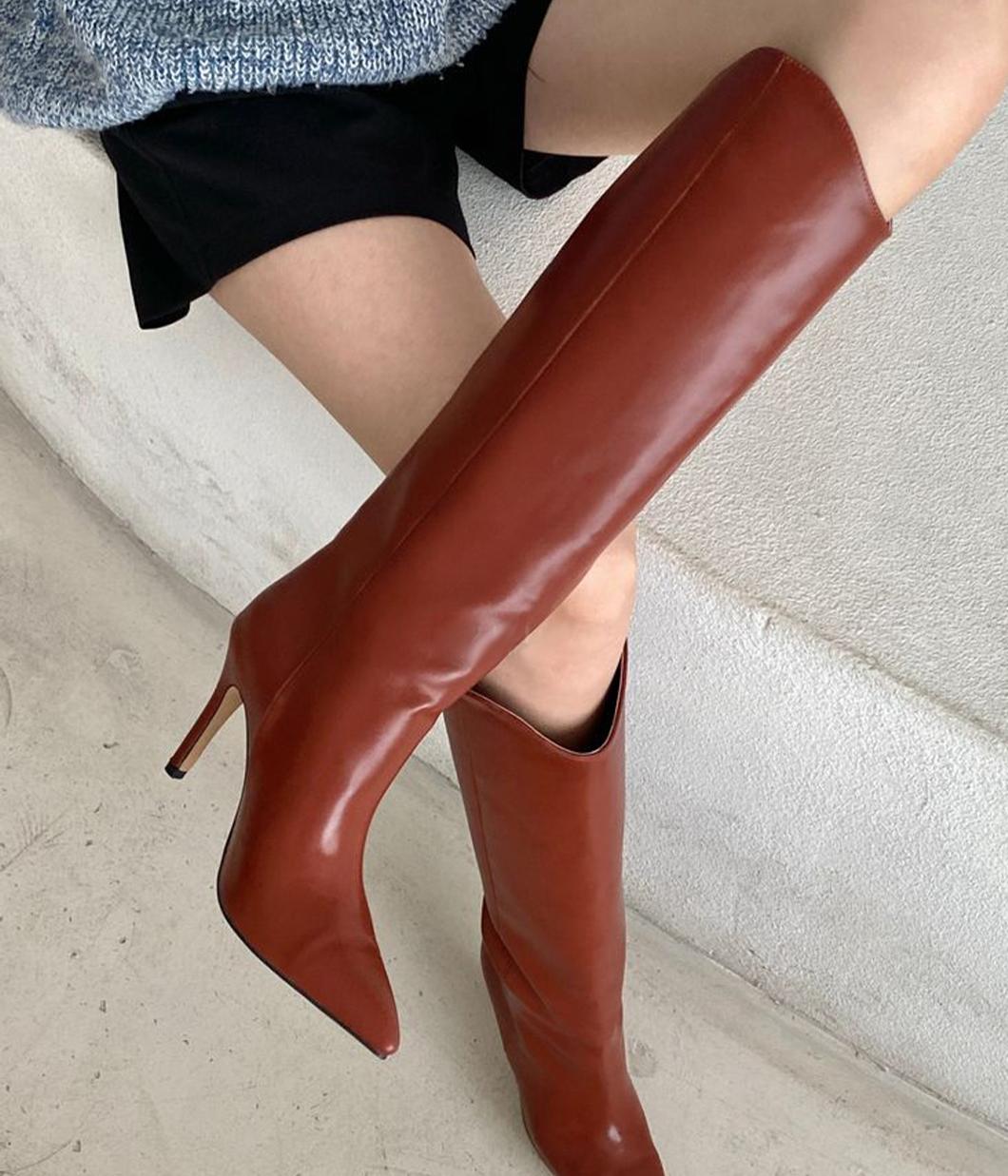 40.你的率性時髦高跟長靴