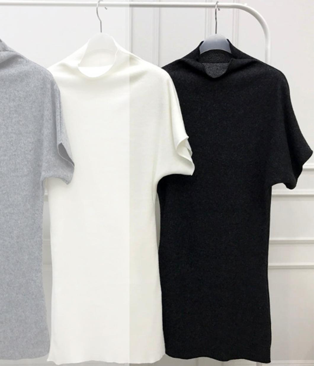 性感曲線高領合身短洋裝