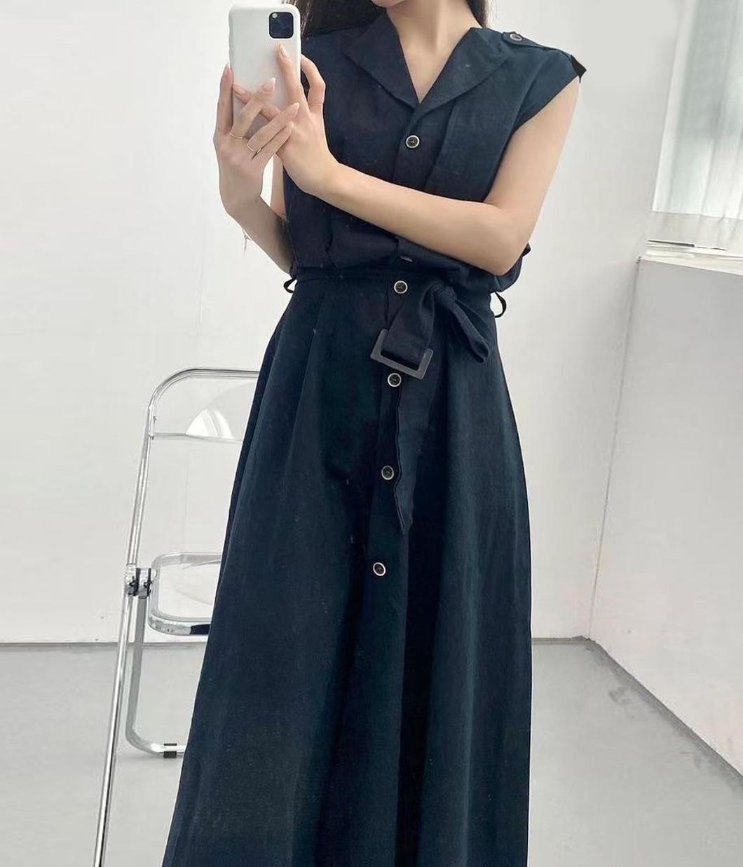 11.率性有型襯衫背心洋(附綁帶)
