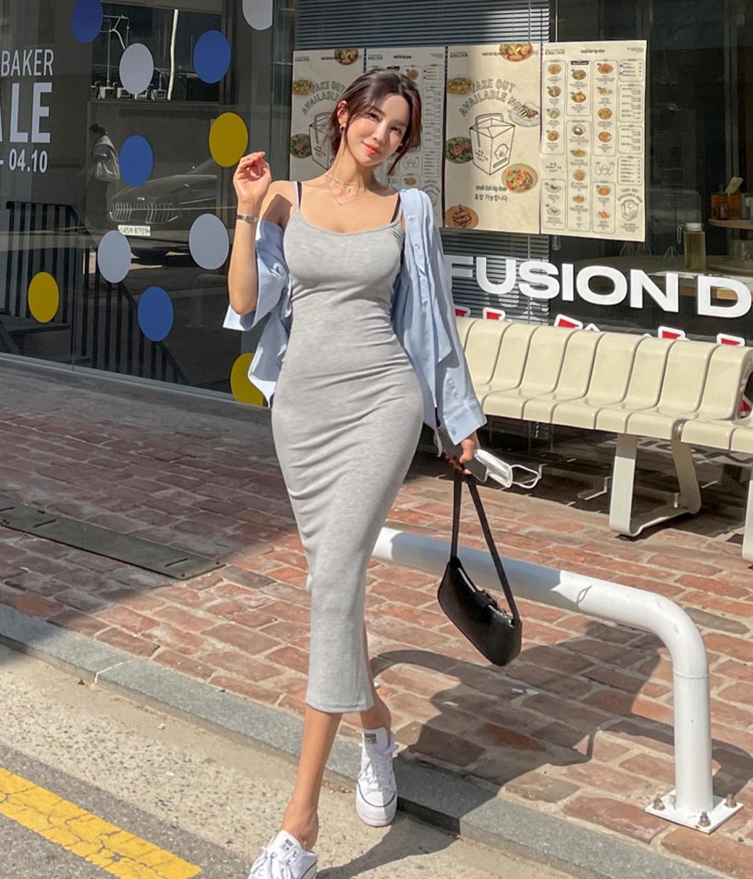 32.身材太好的舒適棉質長裙
